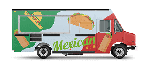 Mexican Food Truck Wrap