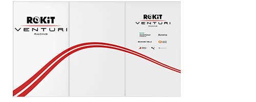 Garage Wall Wrap for Rokit Venturi Racing