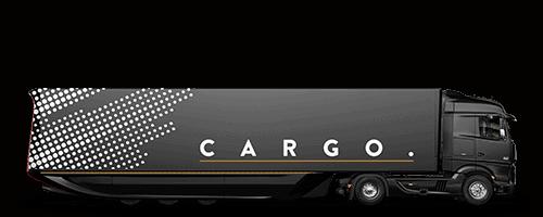 Custom Truck Wrap on car transporter truck